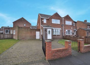 Thumbnail 3 bed semi-detached house for sale in Crossways, Silksworth, Sunderland