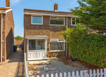 Thumbnail 3 bed semi-detached house for sale in Lychpole Walk, Goring-By-Sea, Worthing