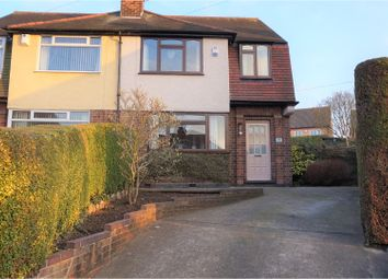 Thumbnail 3 bedroom semi-detached house for sale in Brooklands Crescent, Gedling