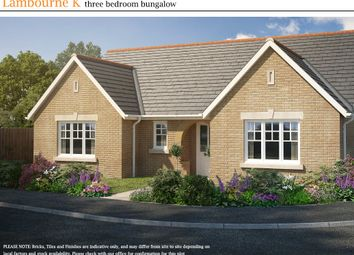 Thumbnail 3 bedroom detached bungalow for sale in Wood Street, Doddington, March