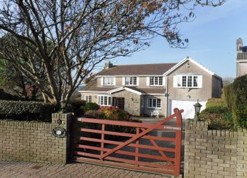 Thumbnail 5 bedroom detached house for sale in Eastdene, 7 Brynview Close, Reynoldston, Gower, Swansea