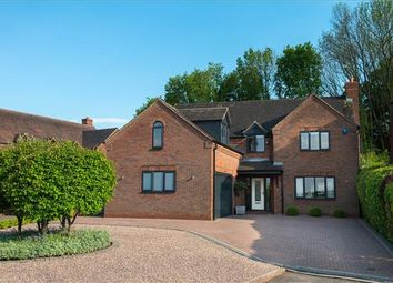 Thumbnail 4 bed detached house for sale in Frythe Close, Kenilworth