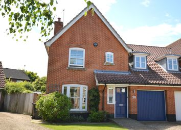 Thumbnail 4 bed semi-detached house for sale in Neil Avenue, Holt, Norfolk