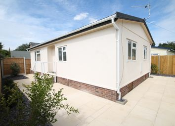 Thumbnail 2 bed mobile/park home for sale in Whittons Park, Waterbeach