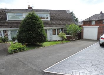 Thumbnail 3 bed semi-detached house for sale in Alpine Drive, Royton, Oldham