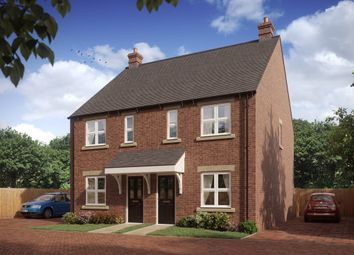 Thumbnail 2 bed semi-detached house for sale in Warwick Road, Hanwell Chase, Banbury