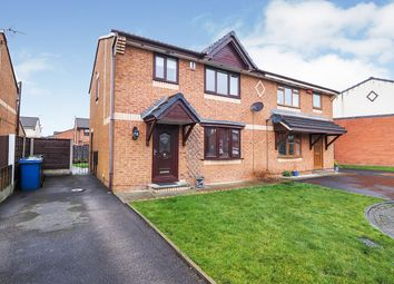 Thumbnail 3 bed semi-detached house for sale in Bankside Avenue, Radcliffe, Manchester, Greater Manchester