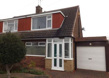 Thumbnail 3 bed semi-detached house for sale in Westerfield Way, Silverdale, Nottinghamshire