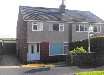Thumbnail 3 bed semi-detached house to rent in Brooke Drive, Brimington, Chesterfield