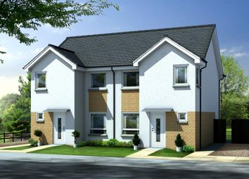Thumbnail 3 bed semi-detached house for sale in The Grove, Motherwell