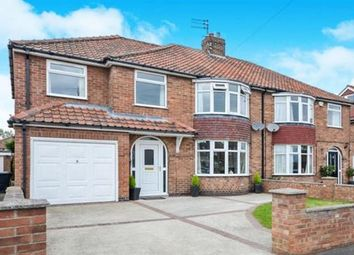 Thumbnail 4 bed semi-detached house for sale in Sitwell Grove, Acomb, York