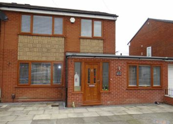 Thumbnail 3 bed semi-detached house for sale in Abbey Road, Lowton, Nr Warrington