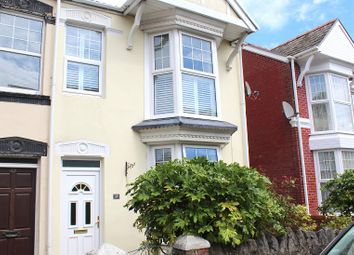 Thumbnail 3 bed semi-detached house for sale in Queens Road, Mumbles, Swansea