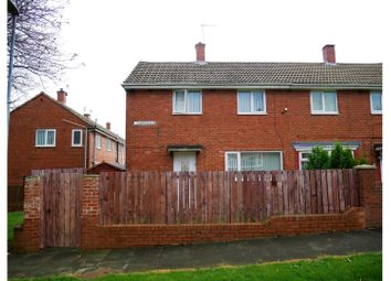 Thumbnail 2 bed semi-detached house for sale in Hawksfeld, Gateshead