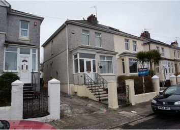 Thumbnail 3 bed end terrace house to rent in South Down Road, Plymouth