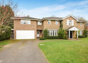 Thumbnail 5 bed detached house to rent in Woodby Drive, Sunningdale