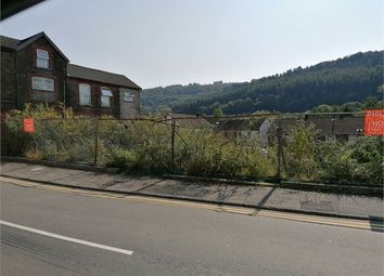 Land for sale in William Street, Ystrad, Rct. CF41