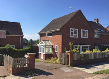 3 bed semi-detached house for sale in Mincinglake Road, Exeter EX4