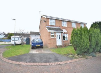 Thumbnail 3 bed semi-detached house for sale in Cheviot Gardens, Seaham