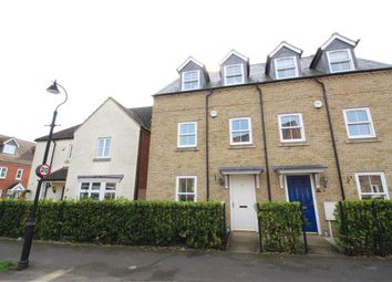 Thumbnail 3 bed terraced house for sale in Roman Paddock, Harrold, Bedford