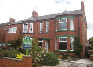 Thumbnail 3 bed semi-detached house for sale in Eastern Road, Willaston, Nantwich