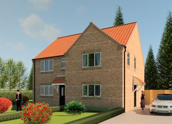 Thumbnail 3 bed semi-detached house for sale in Sessile Crescent, Ruskington, Sleaford