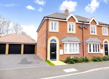 Thumbnail 3 bed semi-detached house for sale in Culverhouse Road, The Sidings, Swindon, Wiltshire
