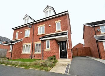 Thumbnail 4 bed semi-detached house for sale in Spinners Drive, Worsley, Manchester