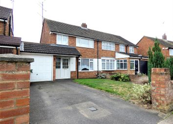 Thumbnail 3 bed semi-detached house to rent in Wingate Road, Dunstable