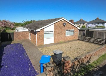 Thumbnail 3 bed detached bungalow to rent in The Drift, Exning, Newmarket
