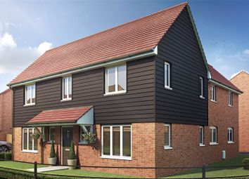 Thumbnail 4 bed detached house for sale in Queens Place, West End, Surrey
