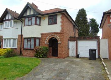 Thumbnail 3 bed semi-detached house for sale in Byron Road, South Croydon, Surrey