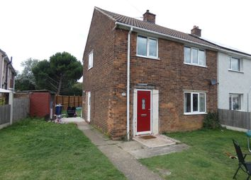 Thumbnail 3 bed semi-detached house for sale in Cheviot Drive, Scawthorpe, Doncaster