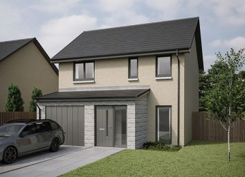 Thumbnail 3 bed detached house for sale in Peregrine Drive, Inverurie