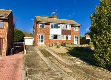 Thumbnail 3 bed semi-detached house for sale in Karen Close, Ipswich