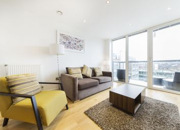 Thumbnail 1 bed flat to rent in Jubilee Court, 8 Wood Wharf, Greenwich, London