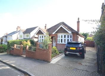 Thumbnail 3 bed detached bungalow for sale in Church Hill, Aldershot, Hampshire