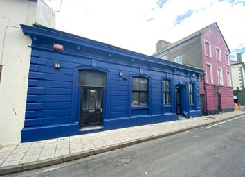 Thumbnail Commercial property for sale in New Street, Aberystwyth