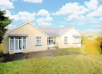 Thumbnail 4 bed detached bungalow for sale in Manor Estate, Horrabridge, Yelverton