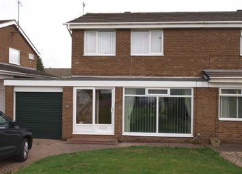 Thumbnail 3 bed semi-detached house for sale in Newlyn Drive, Cramlington