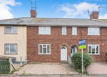 Thumbnail 3 bed terraced house for sale in Coronation Avenue, Whittlesey, Peterborough