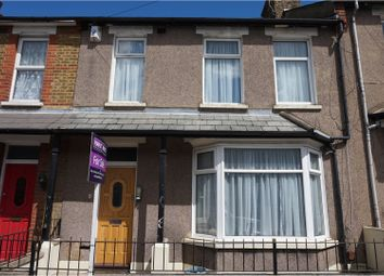 Thumbnail 3 bed terraced house for sale in Brook Road, Gravesend