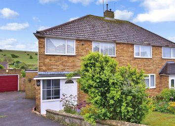Thumbnail 3 bed semi-detached house for sale in Merston Close, Brighton, East Sussex