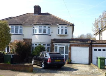 Thumbnail 3 bedroom semi-detached house for sale in Pams Way, Ewell Court, Epsom