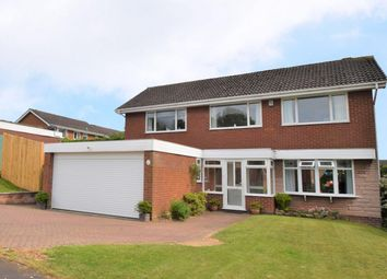 Thumbnail 4 bedroom detached house for sale in Stokesay Way, Sutton Hill, Telford
