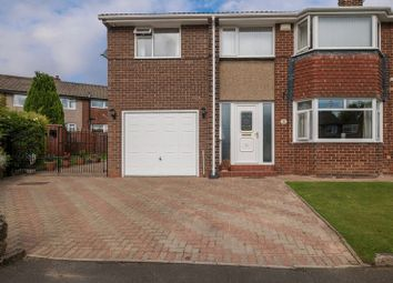 Thumbnail 4 bedroom semi-detached house for sale in Pont View, Ponteland, Newcastle Upon Tyne