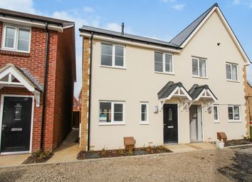 Thumbnail 2 bed semi-detached house for sale in Robinson Avenue, Houghton Conquest, Bedford