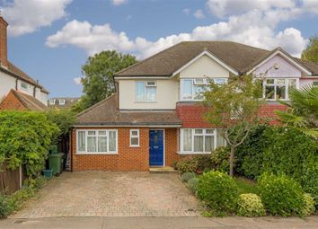 3 bed semi-detached house for sale in Windmill Avenue, Epsom, Surrey KT17