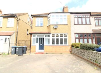 Thumbnail 3 bed terraced house to rent in Carnarvon Avenue, Enfield