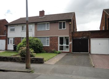 Thumbnail 3 bed semi-detached house for sale in Birmingham New Road, Coseley, Bilston, West Midlands